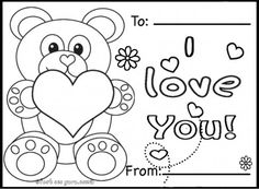 free valentine coloring pictures to print off | Valentine\'s day ...