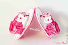 "Stylish booties ""haute couture)"" for a little girl"