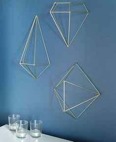 Matte Brass (Macy's) $37 -- Umbra Prisma Wall Décor - Picture Frames - For The Home - Macy's