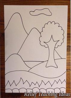 Image result for sub plans worksheets for art-landscape