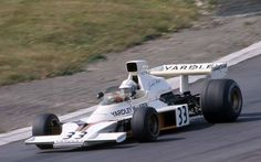 Mass replaces the injured Hailwood and Hobbs in the M23 Yardley Team. Mosport 74.