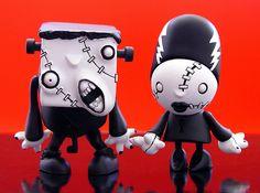 killer panda, sd toys monster theater figures: franky, the bride | Flickr - Photo Sharing!