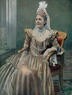 Her Majesty The Queen of Sweden Previously Sophia Wilhelmine of Nassau 1899