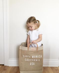 Apolis Market Bag With Kids Withapolis