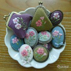 감사를 전하는 5월♡ 카네이션보다 앙증맞은 패랭이꽃으로 브로치 만들었어요 원예용 '겹패랭이' 꽃바구니...