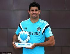 Diego Costa is the Barclays Premier League Player of the Month after some fine performances for Chelsea