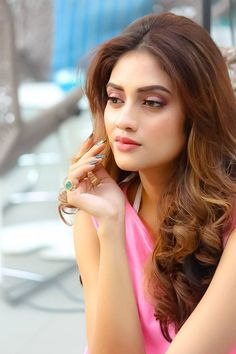 Nusrat Jahan was born on January in Kolkata, India. She was born in a Muslim family her mother was a film actress. Beautiful Girl Photo, Beautiful Girl Indian, Most Beautiful Indian Actress, Beautiful Actresses, Beautiful Women, Beautiful Gorgeous, Beauty Full Girl, Cute Beauty, Beauty Women