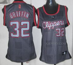 http://www.xjersey.com/clippers-32-griffin-grey-grid-women-jersey.html CLIPPERS 32 GRIFFIN GREY GRID WOMEN JERSEY Only 32.17€ , Free Shipping!
