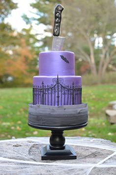 Halloween Cake - by Elisabeth @ CakesDecor.com - cake decorating website