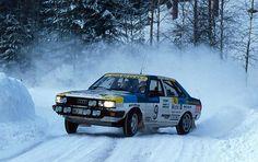 Mikael Ericsson - Rolf Melleroth 34th International Swedish Rally 1984 (Audi 80 Quattro)