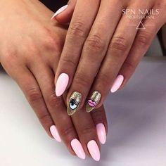 garden kundasang Over 50 Bright Summer Nail Art Designs That Will Be So Trendy All Season Almond Acrylic Nails, Cute Acrylic Nails, Cute Nails, Classy Nails, Trendy Nails, Nail Manicure, Gel Nails, Evil Eye Nails, Fruit Nail Art