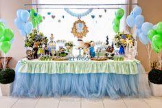 Frescurinhas Personalizadas: Festa Frozen azul e verde!