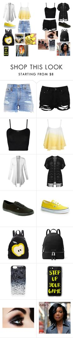 """Different Types"" by malaysiasmith21 on Polyvore featuring R13, Boohoo, WearAll, WithChic, Verpass, Vans, Fendi, MICHAEL Michael Kors, Marc by Marc Jacobs and Casetify"