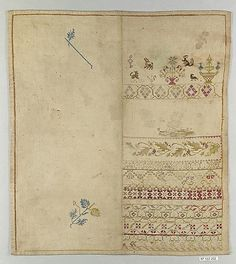 Date: 19th century Culture: Spanish Medium: Silk on cotton