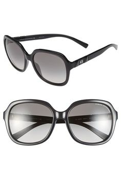 fc862f3811e AX Armani Exchange 58mm Sunglasses Axe