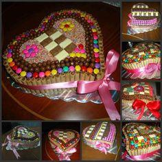 Torta de Dandy y Pirulin..ver RECETA AQUÍ>> http://blogdemeencantaelchocolate.blogspot.com/2014/05/torta-de-dandy-y-pirulin.html