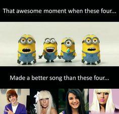 Especially Rebecca black! >.< *gags*