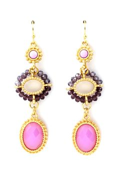 Charming earrings   Josie Ombre Earrings on Emma Stine Limited