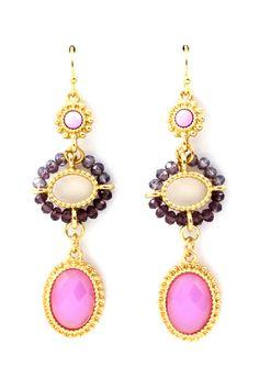 Charming earrings   Josie Ombre Earrings on Emma Stine Limited