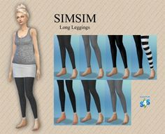 LongLeggings | SIMISM
