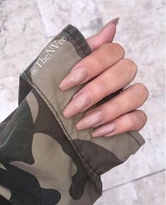 In look for some nail designs and ideas for your nails? Here's our list of 27 must-try coffin acrylic nails for stylish women. Nude Nails, Gel Nails, Nail Polish, Coffin Nails, Beige Nails, Nail Nail, Gorgeous Nails, Pretty Nails, Perfect Nails