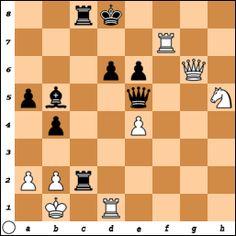 White Mates in 3. Oll vs Vladimir Tukmakov, Moscow, 1992 www.chess-and-strategy.com #echecs #chess