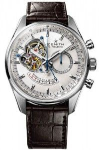 Zenith Chronomaster Open Power Reserve Silver Dial Mens Watch