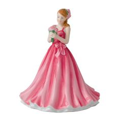 May Peony ~ Royal Doulton Flower of the Month Figurine