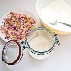 Homemade Rose Petal Bath Salts   POPSUGAR Smart Living