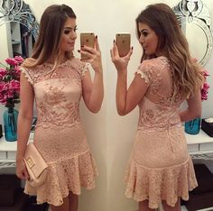 Sport party outfit women new ideas Cheap Dresses, Short Dresses, Formal Dresses, Vestidos Vintage, Vintage Dresses, Dress Skirt, Lace Dress, Photos Of Dresses, Party Outfits For Women
