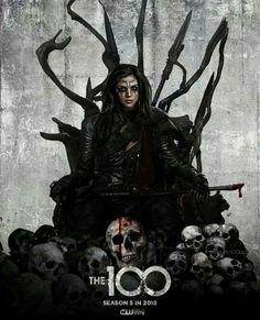 The 100 season 5 poster | Octavia Blake as Heda