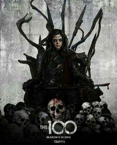 The 100 season 5 poster | Octavia Blake as Heda