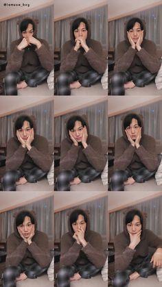 Nini is so cute Baekhyun, Kaisoo, Exo Kai, Park Chanyeol, K Pop, Chen, Exo Lockscreen, Exo Korean, Kim Jongin