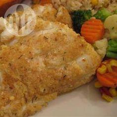 Easy Baked Haddock .... yummy