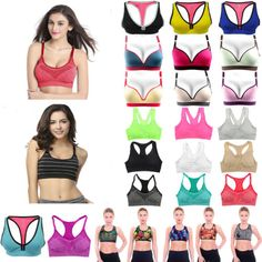 Womens #fitness comfort sports bras push up stretchy tank #athletic tops #shapewe,  View more on the LINK: http://www.zeppy.io/product/gb/2/152330244517/