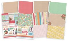 Free Vintage Treasures printables from our new issue (129)! Papers, toppers and borders, perfect for handmade birthday cards. Enjoy!