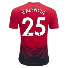 adidas Antonio Valencia Manchester United Authentic Home Jersey 18 19-m  Antonio Valencia af2d03ccf