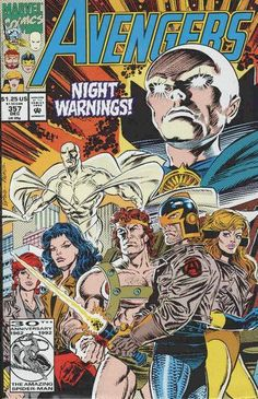 Avengers # 357 by Steve Epting & Tom Palmer