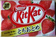 KitKat Strawberry - Japan