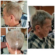 Shear mens cut