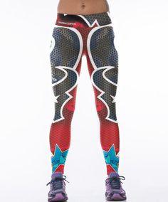 Superman Printed Sport Leggings