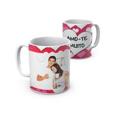 """Caneca """"Amo-te Muito"""". """"Amo-te Muito"""" Mug"""