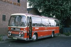 Bus Coach, Nottingham, Coaches, Buses, Vintage Cars, Motors, Transportation, Vehicles, Old Cartoons