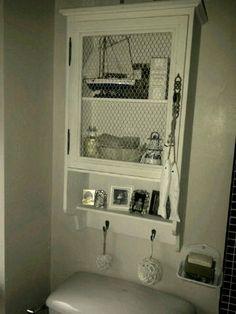Bathroom cabinet. Shallow.