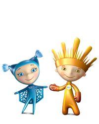 Playtime! Sochi Shows Off Its Mascots - NBC News |Winter Olympics 2014 Mascot Names