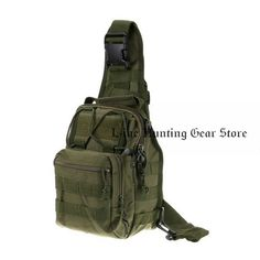600D Nylon Sports Molle Chest Bag Tactical Military Shoulder Strap Bag Men Women Outdoor Camping Hiking Bag #dayhikingbag Hunting Bags, Hunting Gifts, Hunting Backpacks, Hiking Bag, Hiking Backpack, Military Messenger Bag, Fly Fishing Equipment, Molle Pouches, Tactical Bag