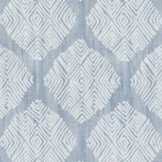 Lulu DK TALISMAN LIGHT BLUE Fabric
