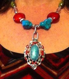 Western necklace I made.