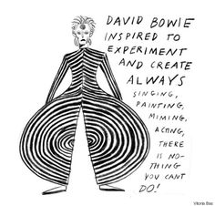 An Illustrated History of David Bowies Profound Influence