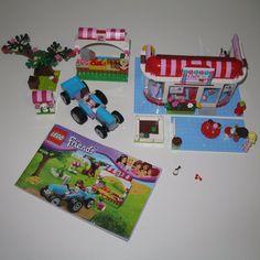 Lego Sets Lot Friends Sunshine Harvest & City Park Cafe 41026 3061 LOT  #LEGO
